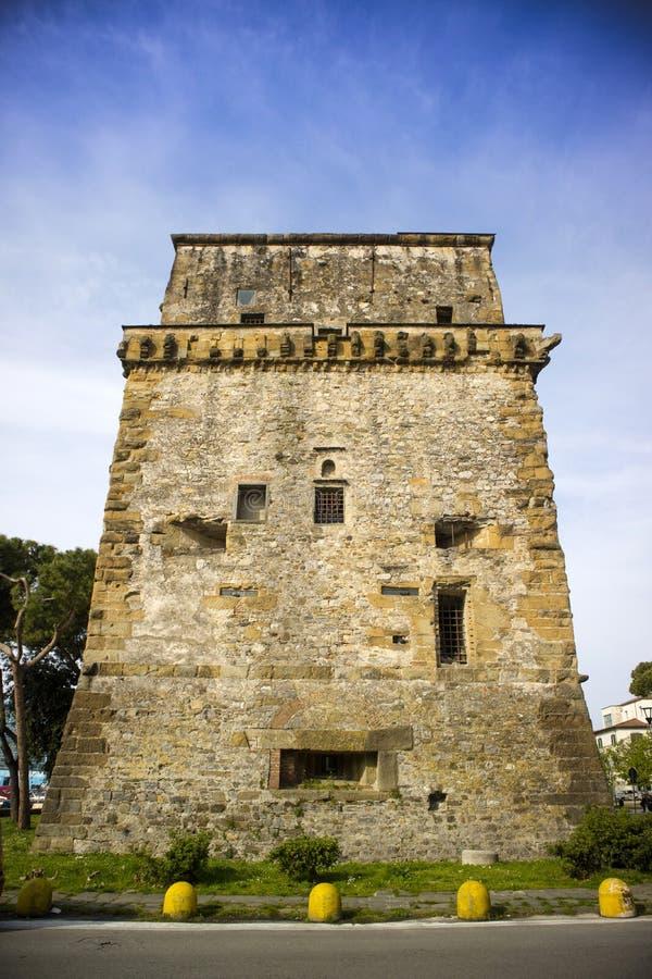 Torre Matilde Viareggio στοκ φωτογραφία με δικαίωμα ελεύθερης χρήσης