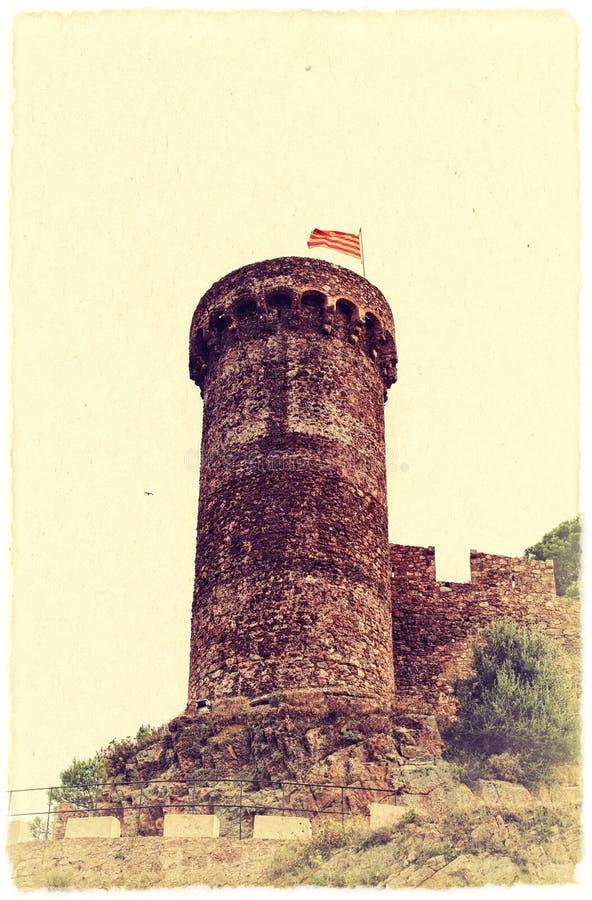 Download Torre medieval no Spain. imagem de stock. Imagem de foto - 29840147