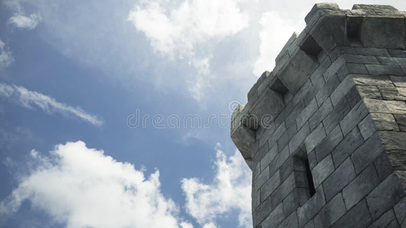 Download Torre medieval do castelo imagem de stock. Imagem de castelo - 65581193