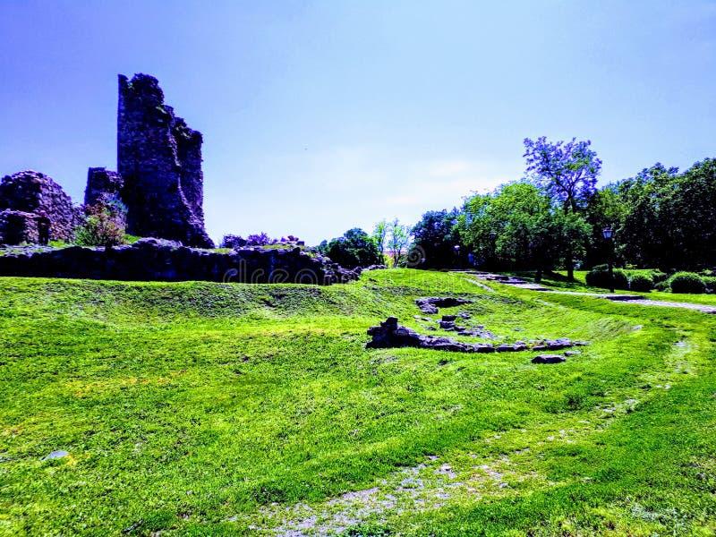 Torre medival do Lazar do czar, Sérvia, século de Europa XIV imagem de stock royalty free