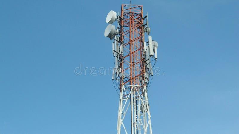 Torre metálica fotografia de stock