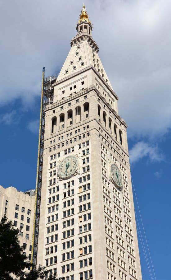 Torre metropolitana do seguro de vida foto de stock royalty free