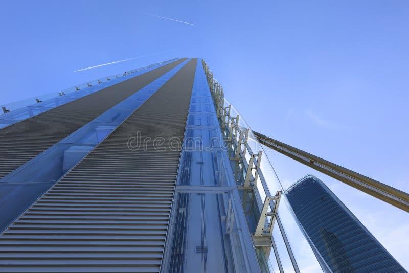 Torre a Milano fotografia stock libera da diritti