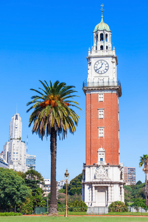 Torre monumental, Buenos Aires foto de stock royalty free