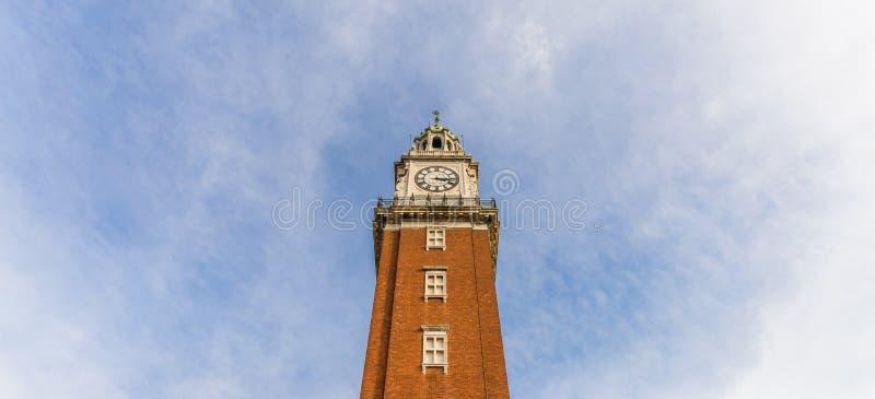 Torre Monumental clock tower in Retiro neighborhood, Buenos Aires, Argentina stock images