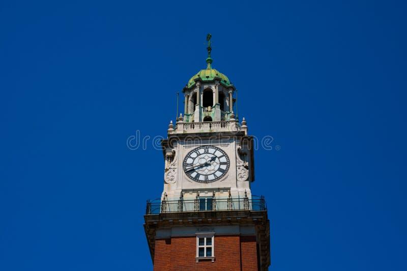 Torre monumental monumental de Torre e antes de 1982 Torre de los Ingleses imagens de stock royalty free