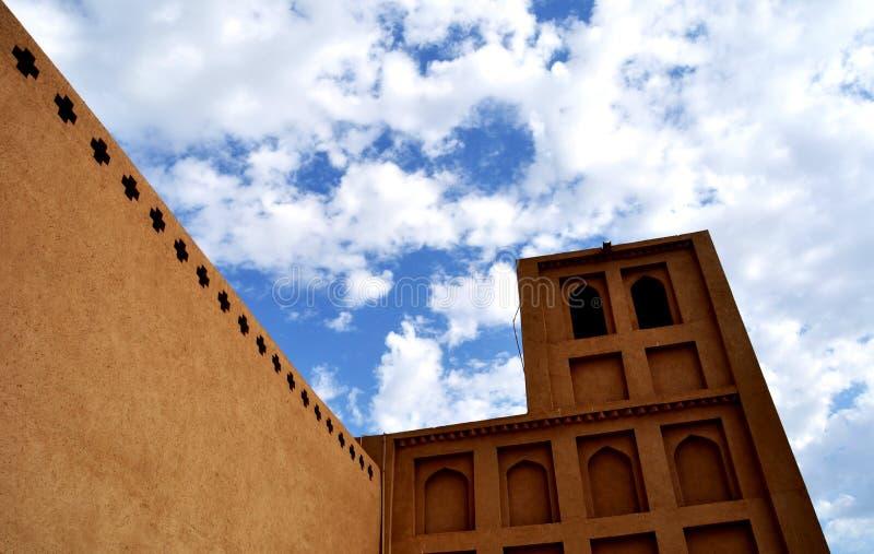 Torre musulmana fotografie stock