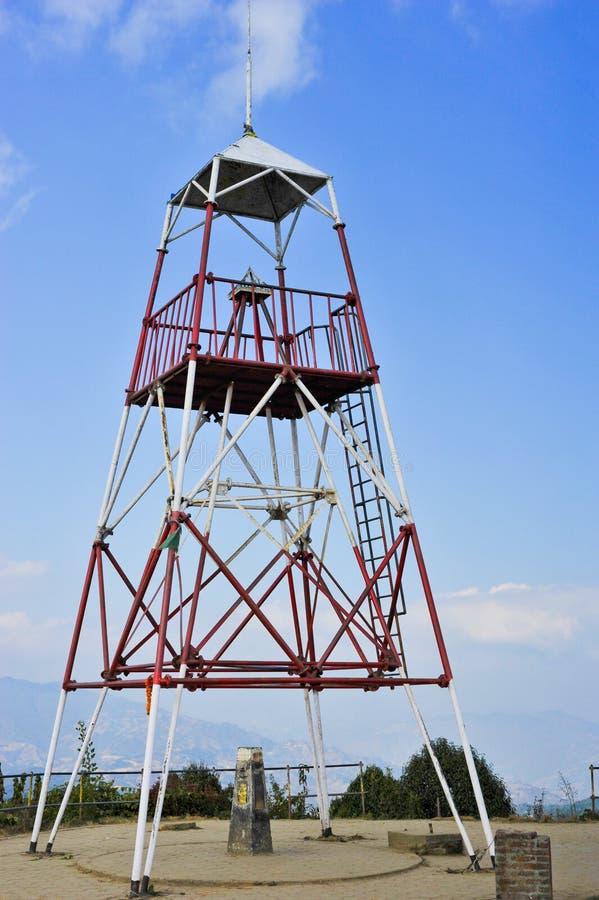 Torre na montanha fotografia de stock royalty free