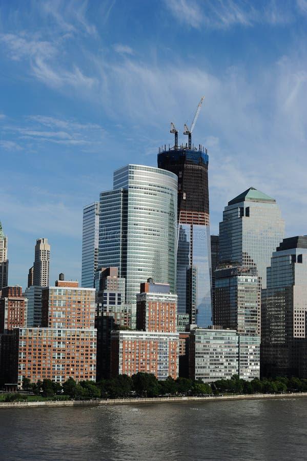 Torre New York City de la libertad imagen de archivo libre de regalías
