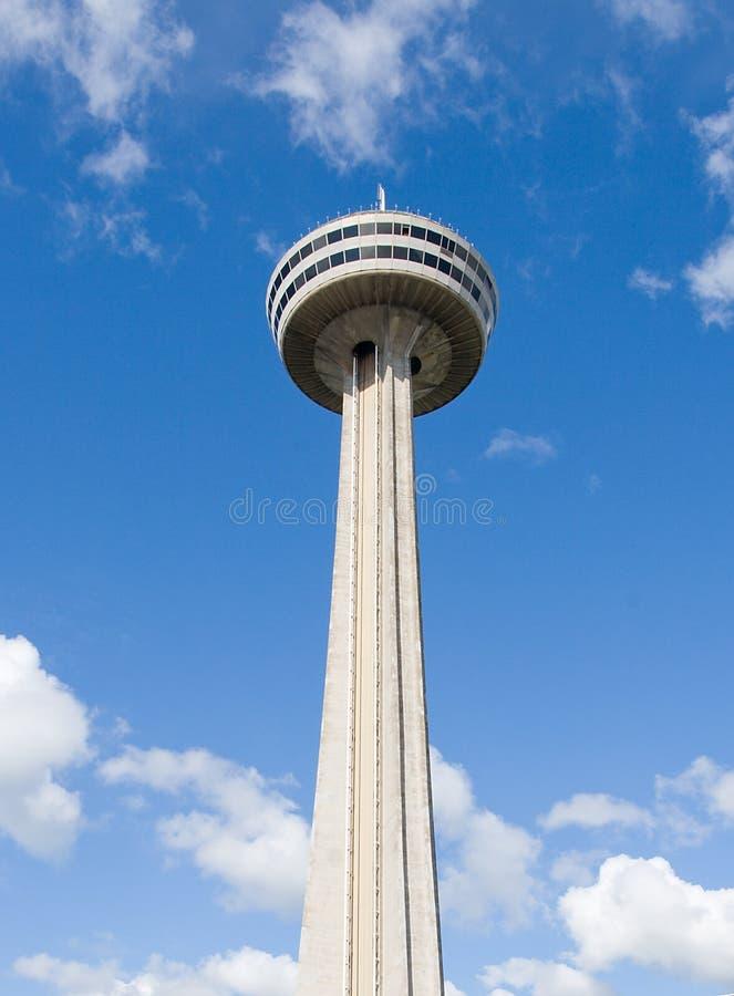 Torre Niagara Falls de Skylon fotografia de stock
