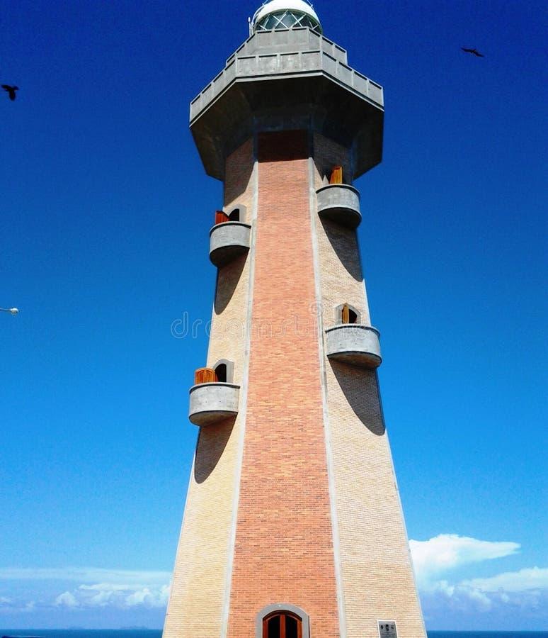 Torre no mar Margarita fotografia de stock