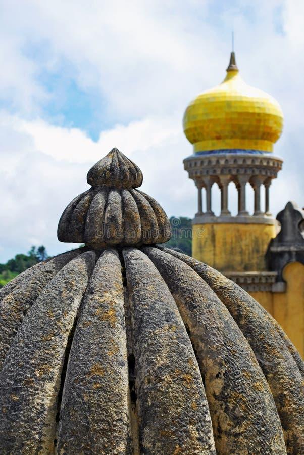 Torre no palácio de Pena fotos de stock royalty free