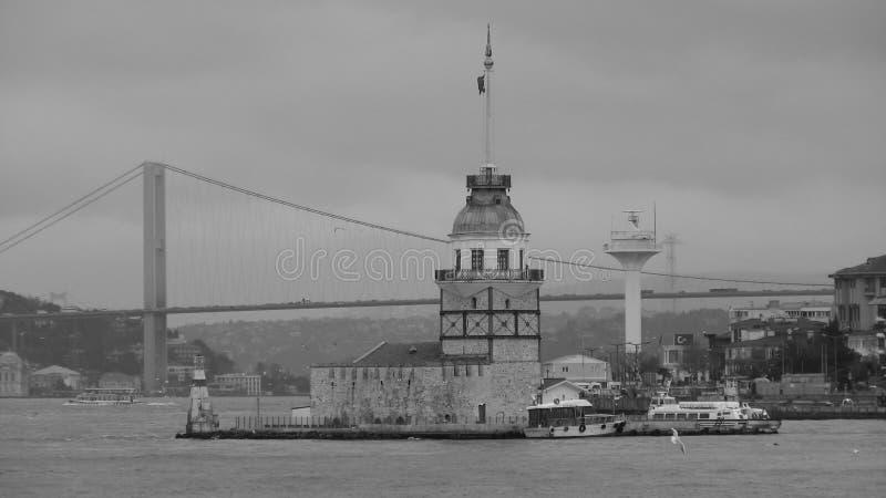 A torre nova do ` s em Istambul fotos de stock royalty free