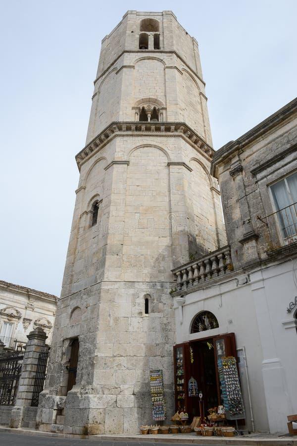 Torre octagonal del santo Michael Archangel Sanctuary foto de archivo libre de regalías