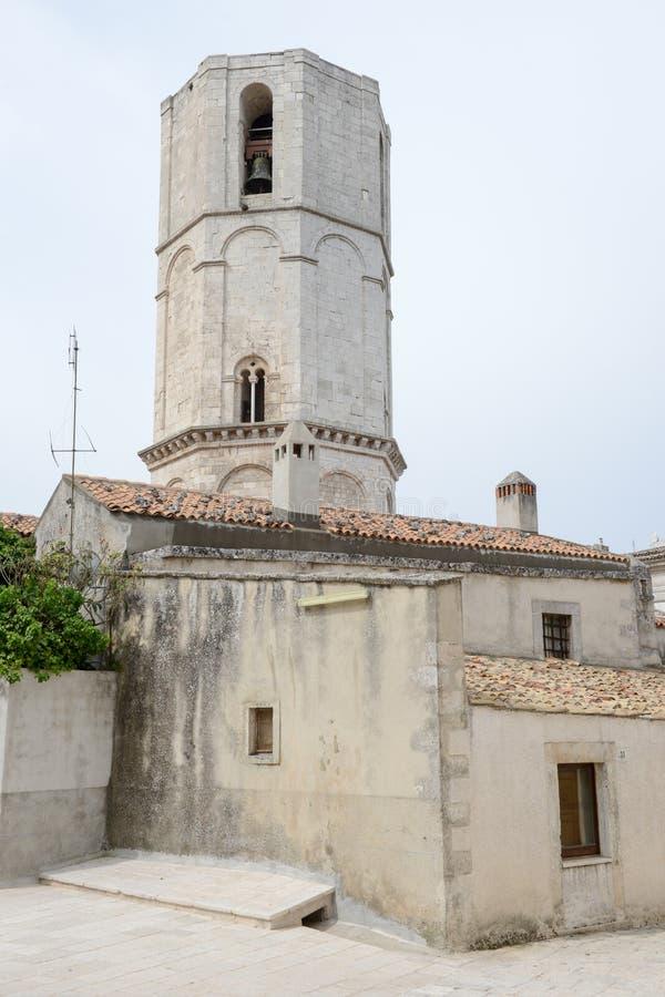 Torre octagonal del santo Michael Archangel Sanctuary imagen de archivo libre de regalías