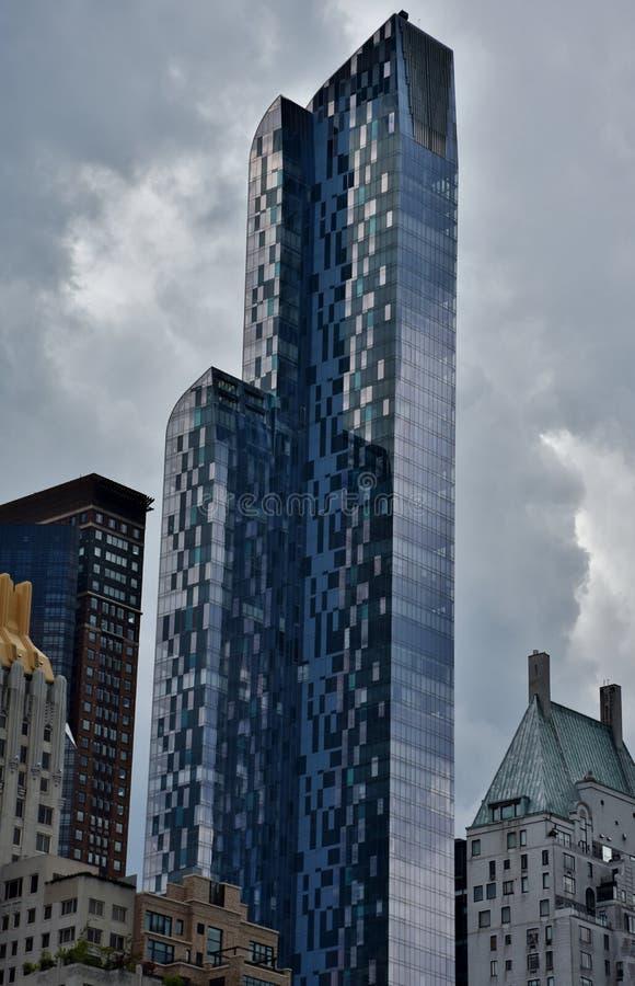 A torre One57 fotografia de stock royalty free