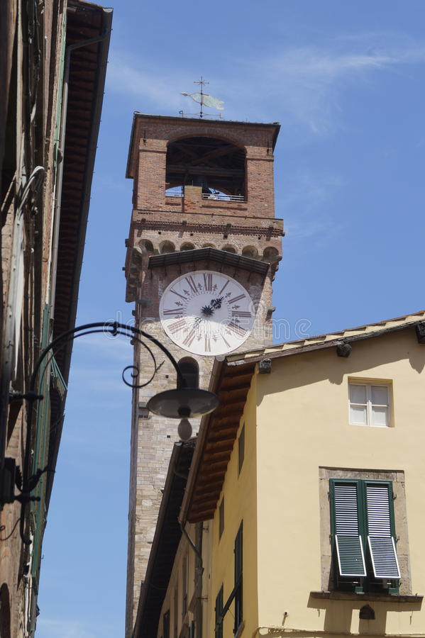 Torre ora in Lucca royalty free stock images
