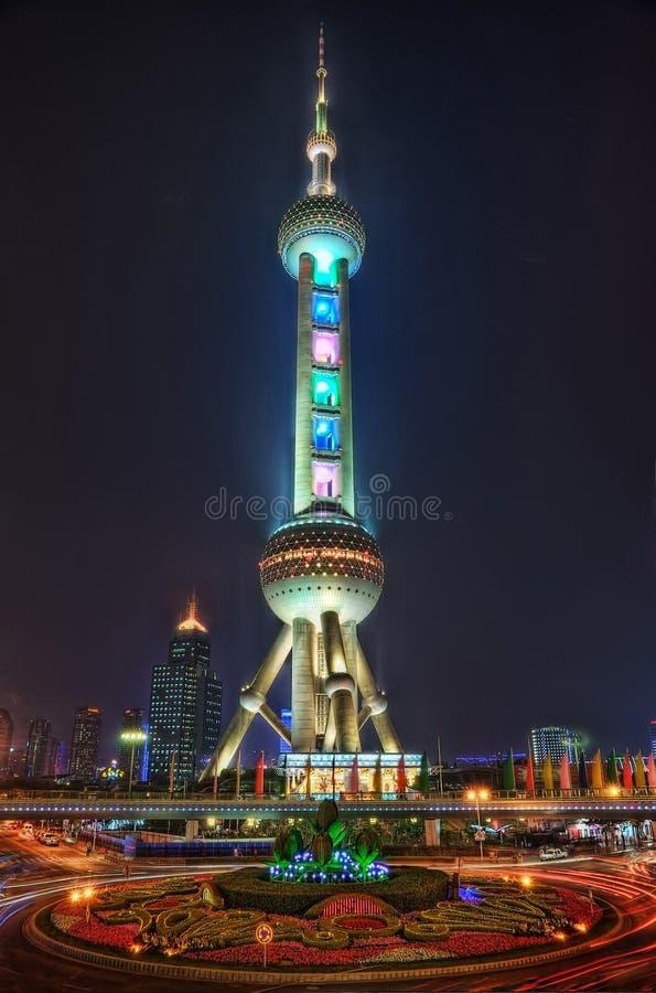 Torre oriental Shangai de la perla foto de archivo libre de regalías