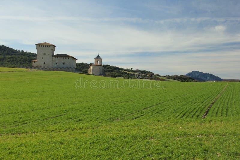 Torre-palacio de la familia de Varona imagen de archivo