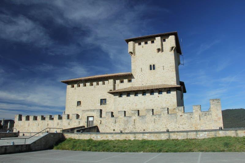 Torre-palacio de la familia de Varona imágenes de archivo libres de regalías