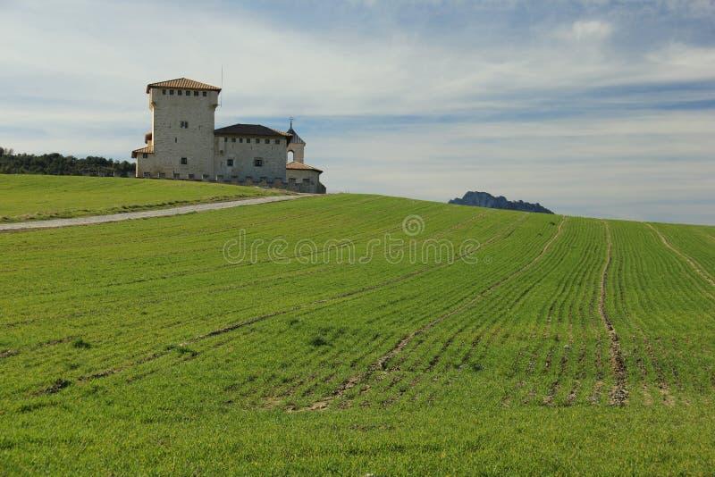 Torre-palacio del Varona fotografía de archivo libre de regalías
