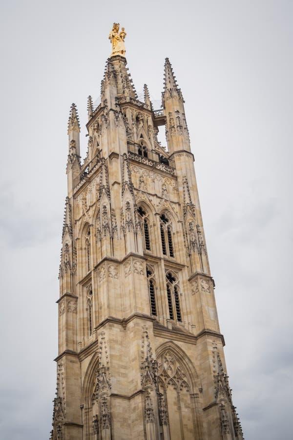 A torre Pey Berland no Bordéus imagens de stock royalty free
