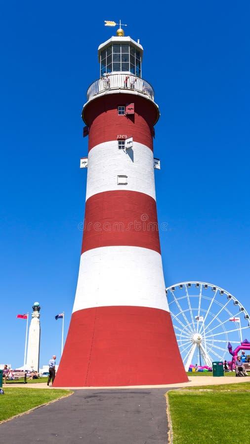 Torre Plymouth de Smeaton foto de archivo libre de regalías