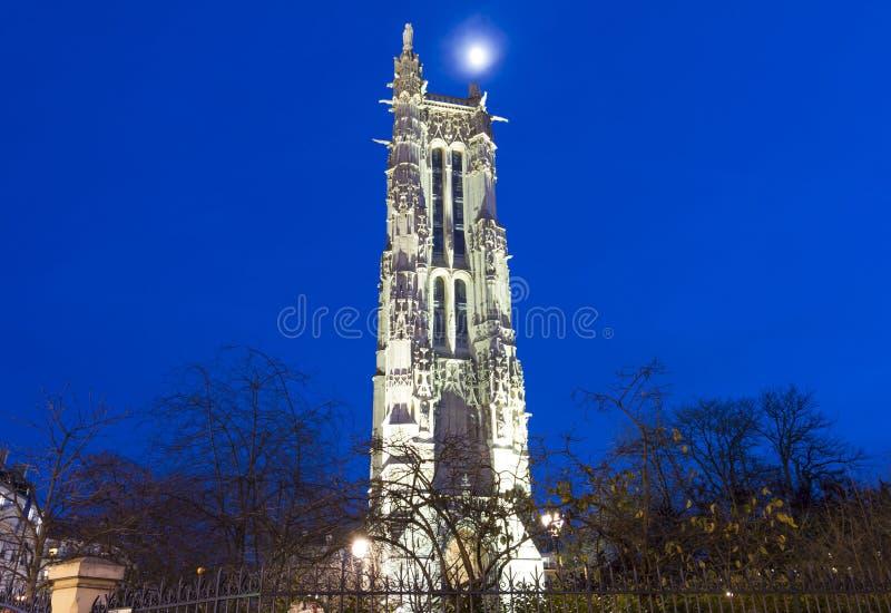 Torre por la tarde, París, Francia de Jacques del santo fotografía de archivo libre de regalías