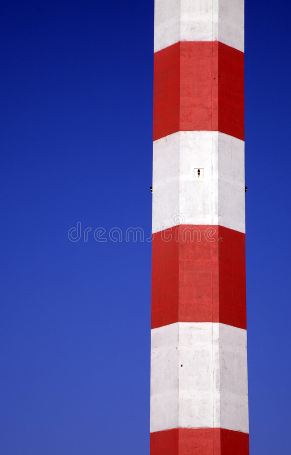 Torre portuaria 1 foto de archivo
