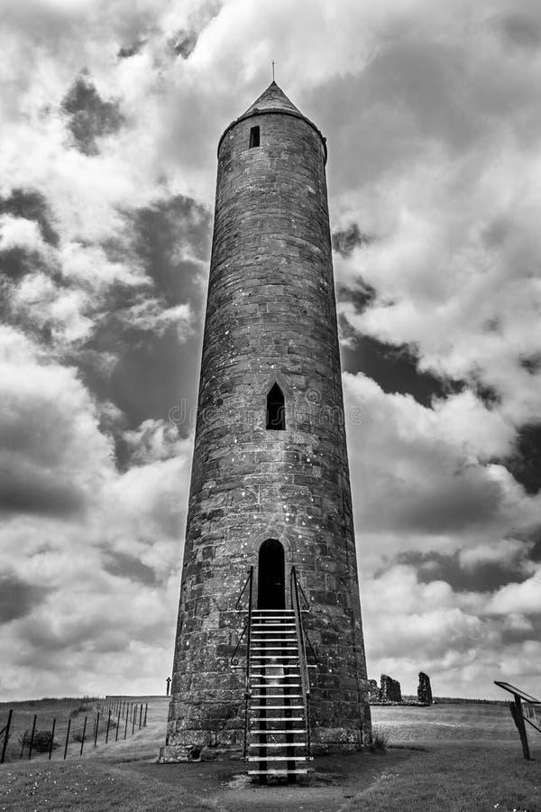 Torre rotonda di Devenish fotografia stock libera da diritti