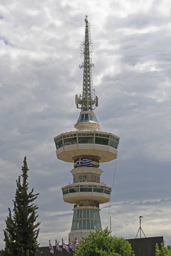 Torre Salónica Grecia de Ote fotografía de archivo libre de regalías