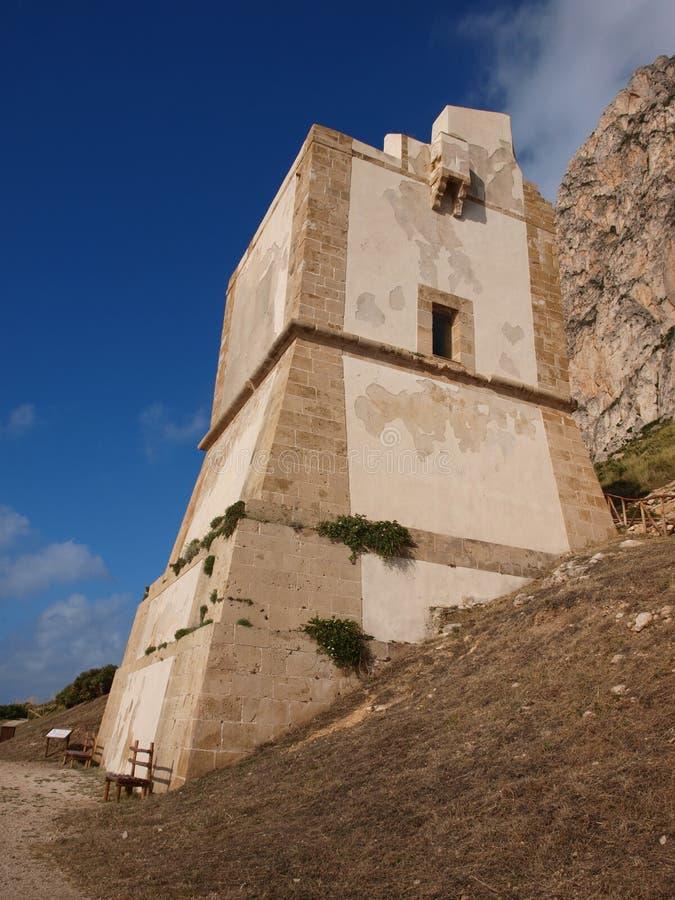 Torre San Giovanni, Custonaci, Sicily, Italy royalty free stock photos