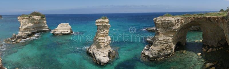 Torre Sant 'Andrea in Salento stock foto