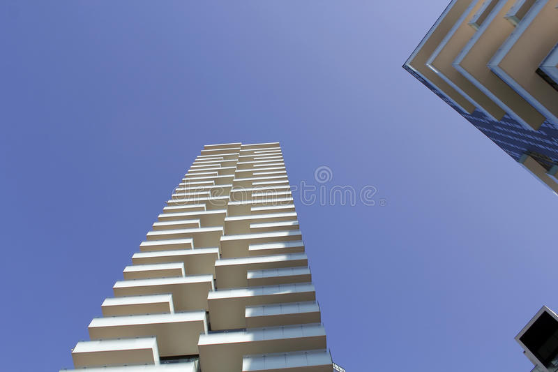 Torre solaria view. The Torre solaria view in the middle royalty free stock images