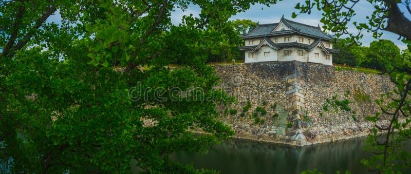 Torre sul de Osaka Castle fotografia de stock