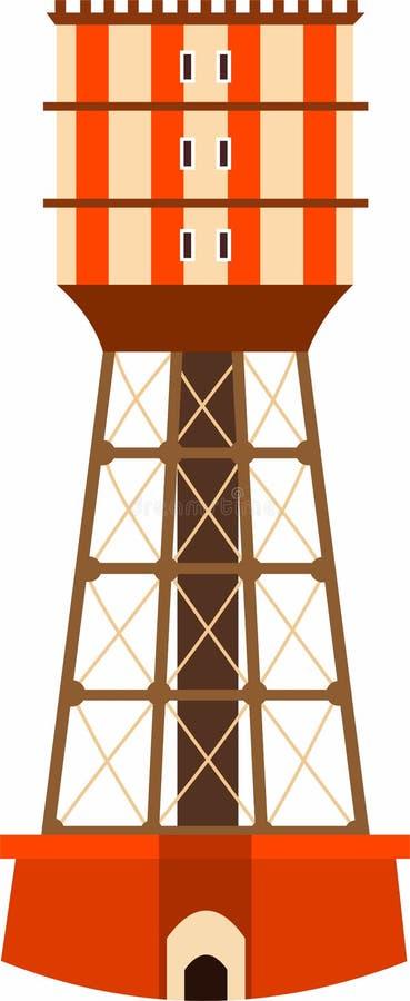 Torre Tirtanadi ilustração royalty free