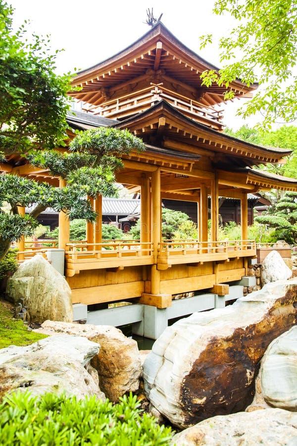 Torre tradicional chinesa do pagode fotos de stock