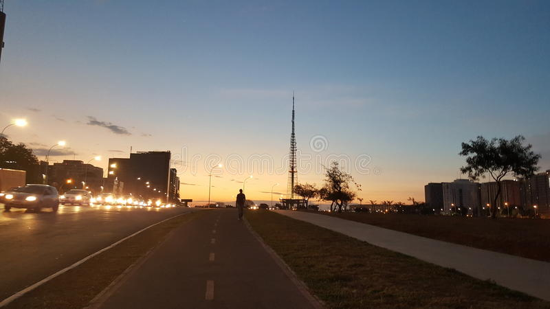Torre TV photographie stock libre de droits