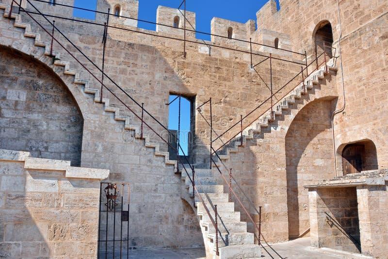 Torre Valencia de la defensa imagen de archivo