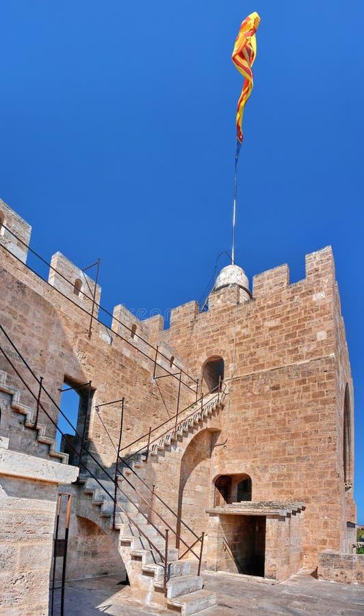 Torre Valencia de la defensa fotografía de archivo libre de regalías