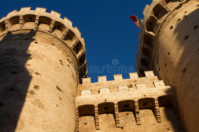 Torre valenciana imagen de archivo libre de regalías