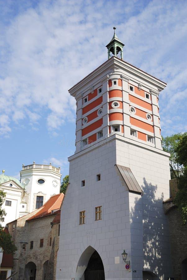Torre vermelha imagens de stock royalty free