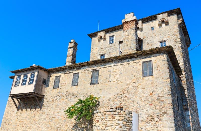 Torre vieja Chalcidice, Grecia fotografía de archivo