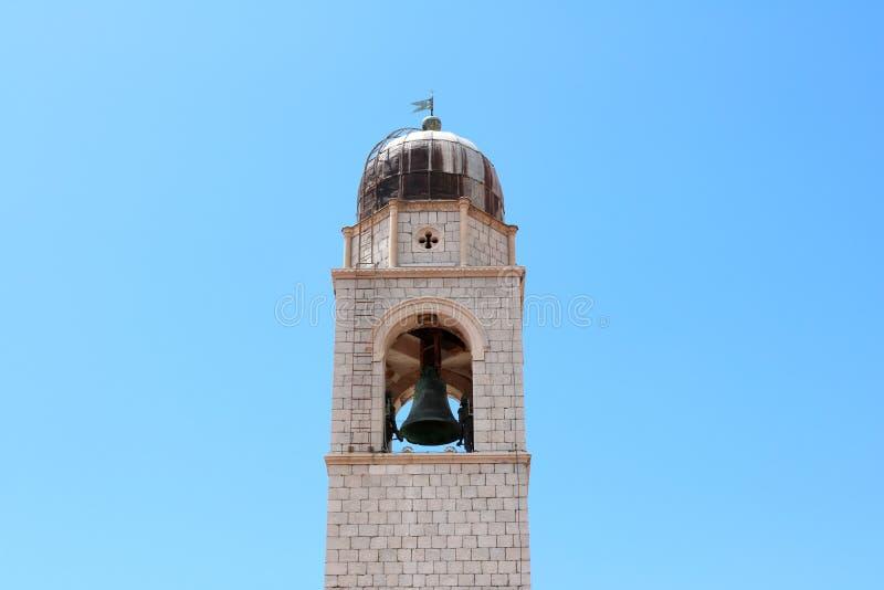 Torre vieja de Dubrovnik de la ciudad foto de archivo libre de regalías