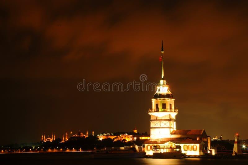 Torre virginal fotografía de archivo