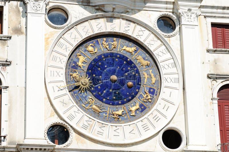 Torredell'orologio Venetië royalty-vrije stock afbeelding