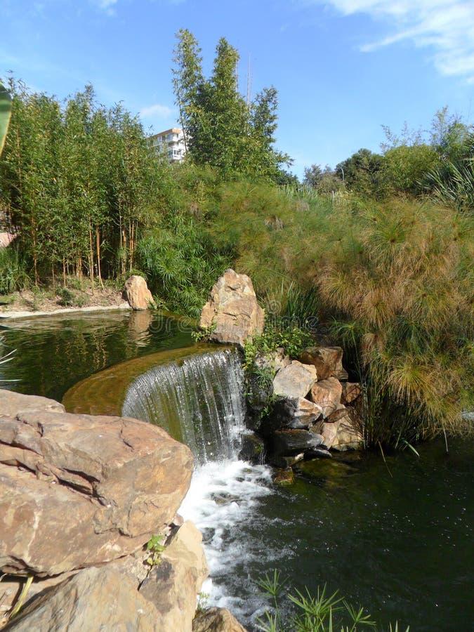 Torremolinos-Botanic Gardens-MOLINO DEL INCA-. Botanic garden-Molino del Inca-Torremolinos-Andalusia-Spain stock photos