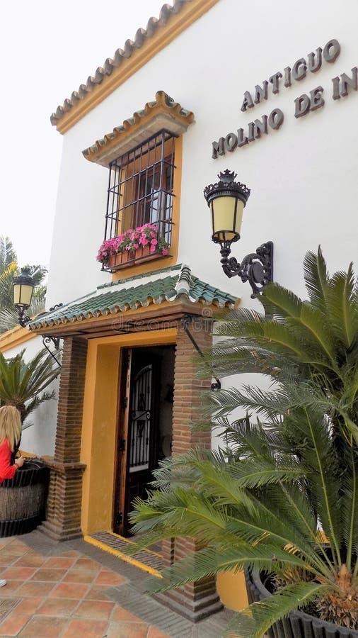 Torremolinos - Botanische tuin-Molino del Inca-Andalusia royalty-vrije stock foto's