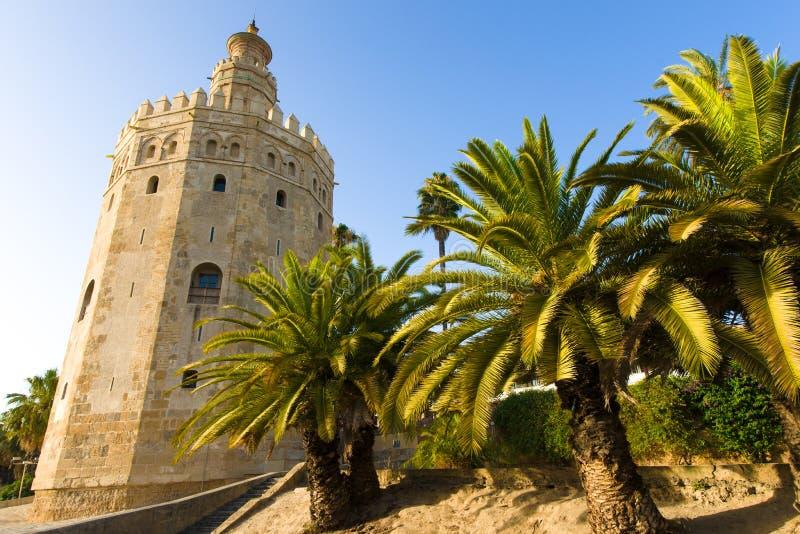 Torre del Oro royaltyfri foto
