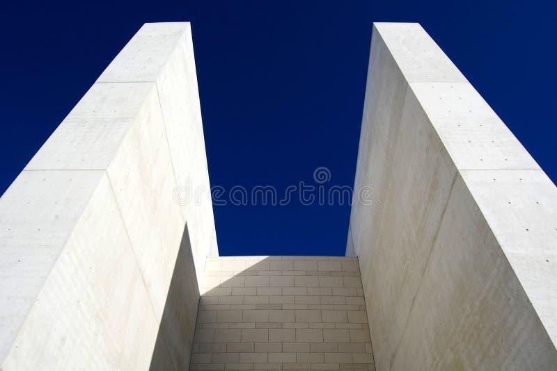 Torres concretas fotografía de archivo